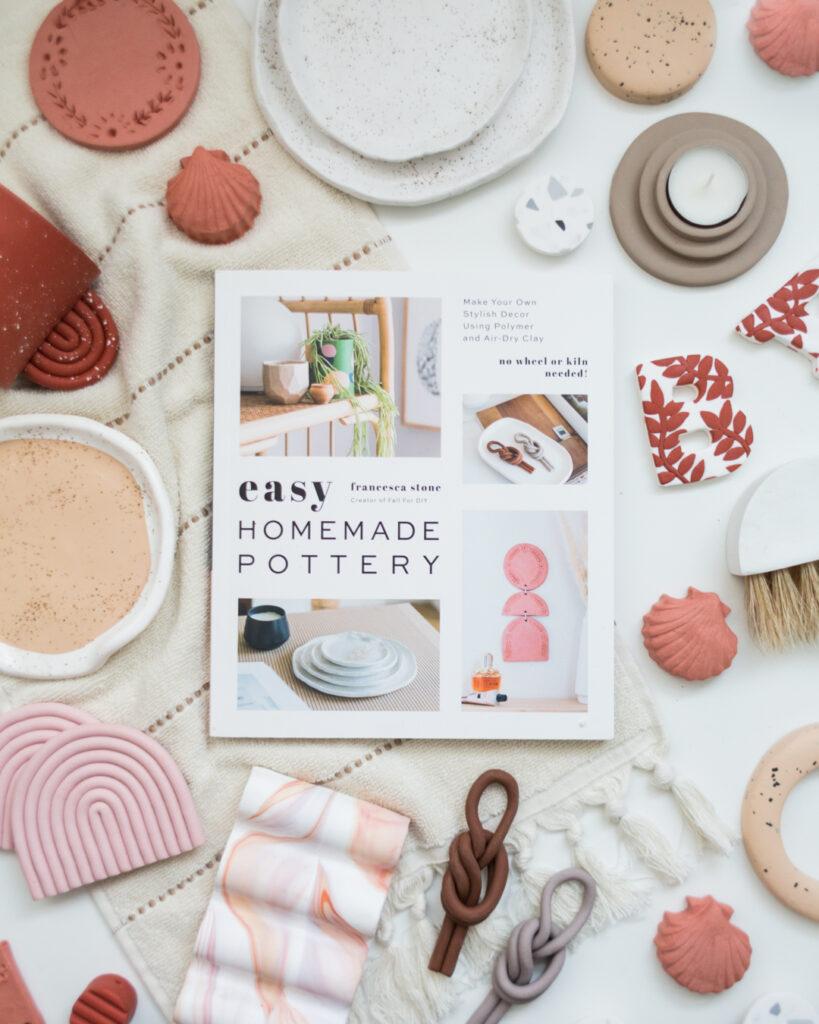 Francesca Stone's book 'easy homemade pottery'