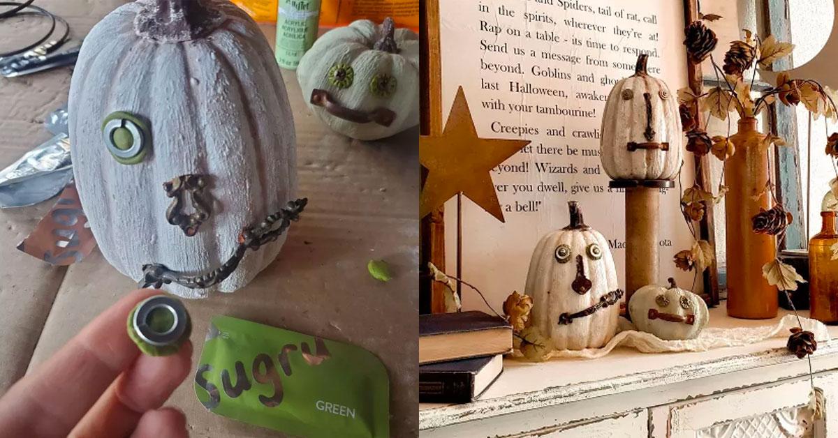 Jag Cag Design pumpkins with Sugru