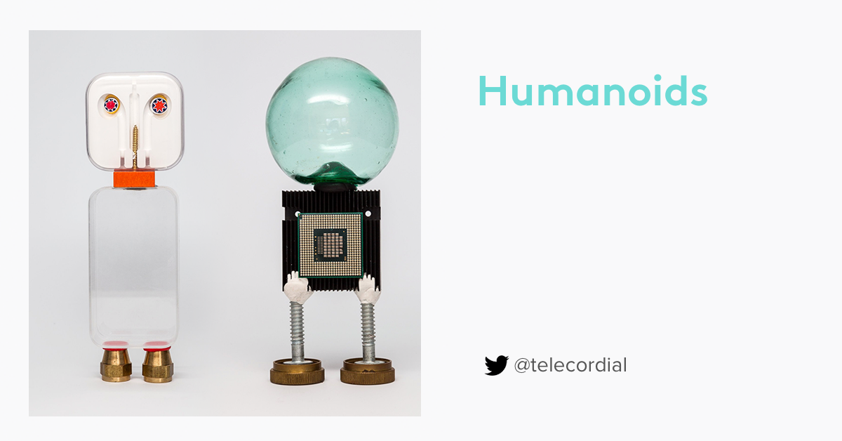 Humanoids by Sugru-er telecordial