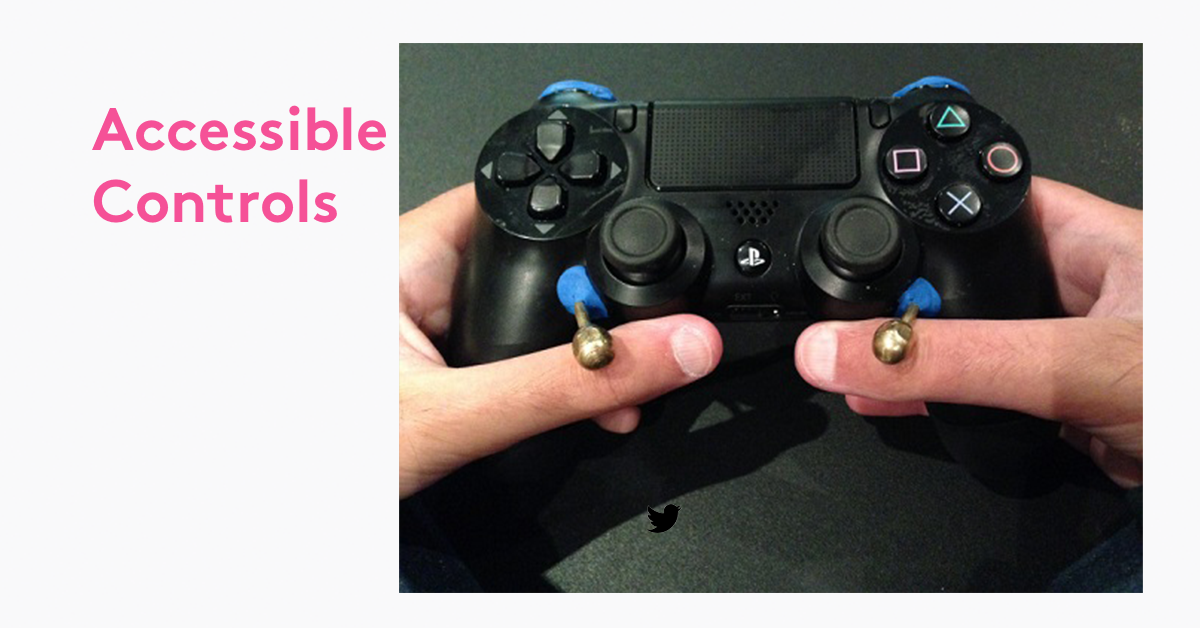 Game controller adapted with Sugru