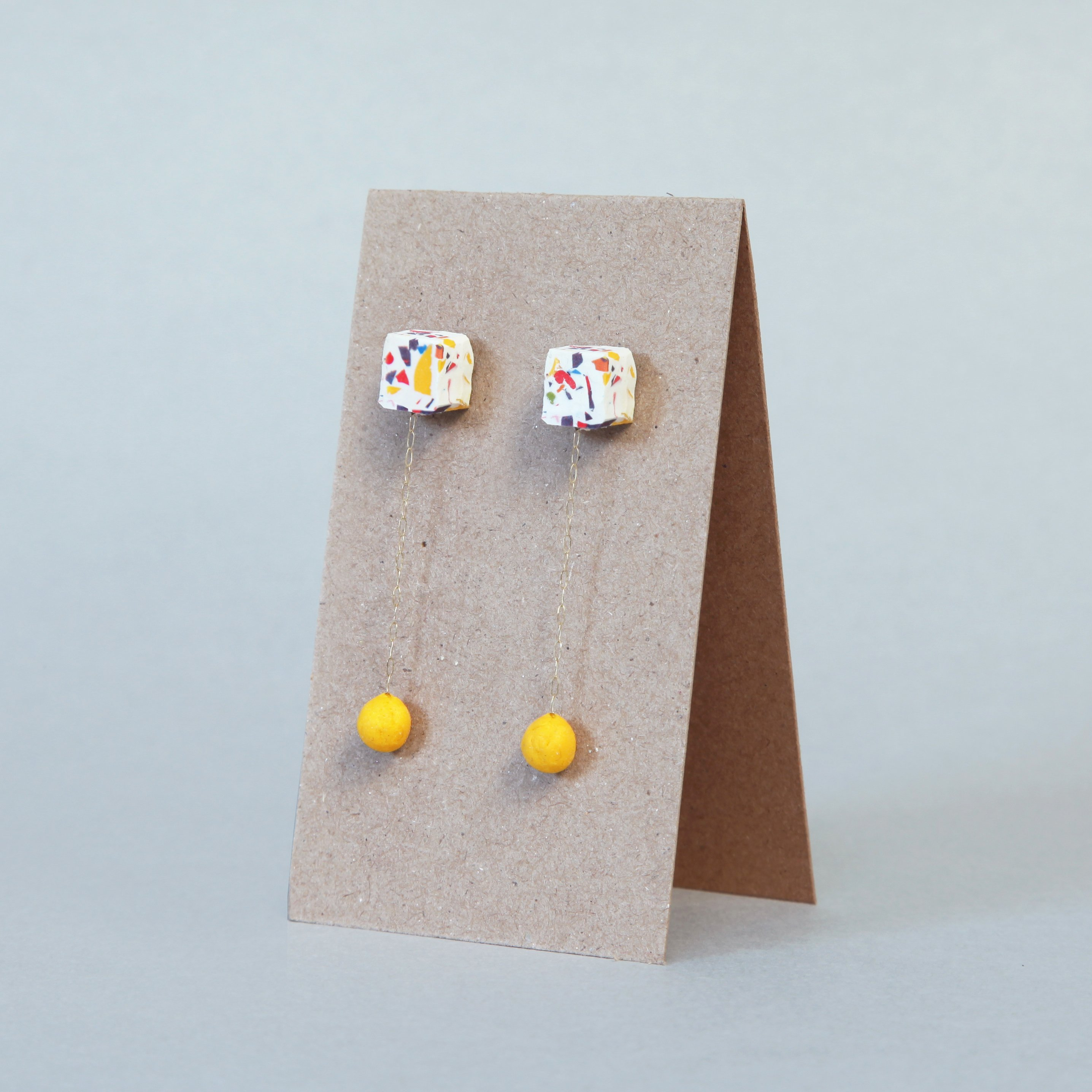 earrings made with sugru