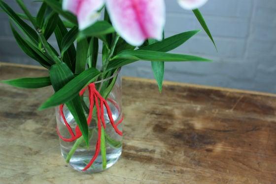 Broken vase repaired with Sugru