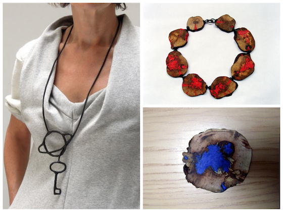 jewellery by dutch designer maria made with sugru