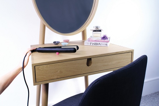 hair straighteners with sugru feet