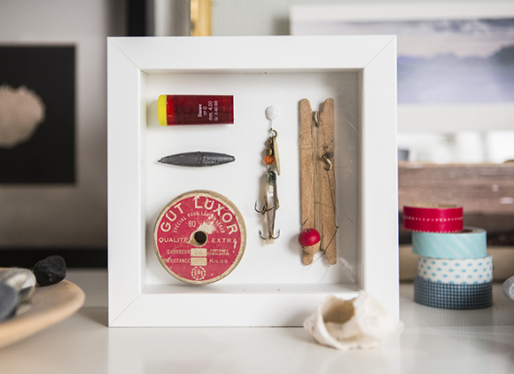 items framed using Sugru