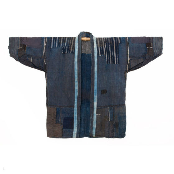 garment patched with boro method